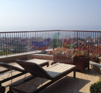 Apartment in Bordighera mit Pool und Garten