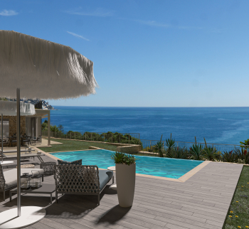 Neue Villa 240 m2 in Bordighera